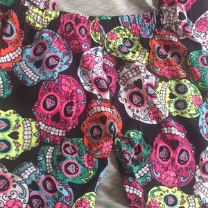 Pants - Sugar skull leggings